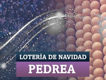 Pedrea Lotería de Navidad 2020: comprobar los números premiados