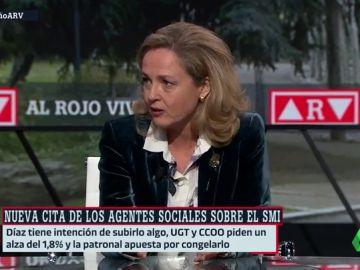 """Calviño pasa la pelota de la subida del SMI a los agentes sociales: """"Si no se ponen de acuerdo, a lo mejor hay que esperar"""""""