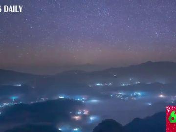El espectacular vídeo de la lluvia de meteoros Gemínidas que arrasa en Internet