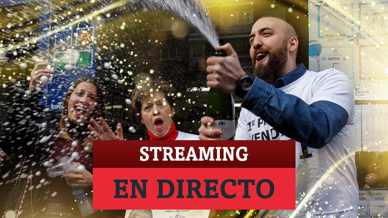 Vídeo en directo del Sorteo de la Lotería de Navidad 2020: Streaming desde el Teatro Real