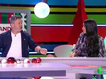 """El pique de Cristina Pedroche en Zapeando: """"Si me estáis haciendo bullying para echarme estaría bien saberlo"""""""
