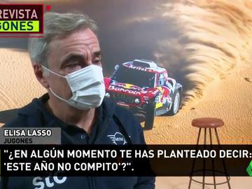 """Carlos Sainz: """"No me he planteado no participar en el Dakar por el coronavirus"""""""