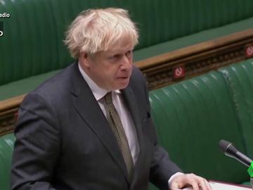 Vídeo manipulado -  Boris Johnson recita 'El Quijote' en el Parlamento