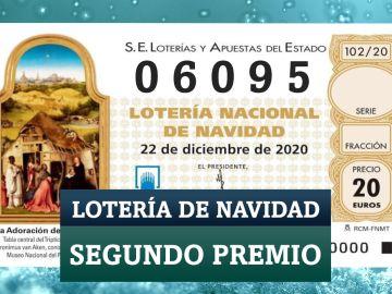 El segundo premio de la Lotería de Navidad 2020