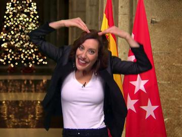 """El divertido discurso de Fin de Año de Ayuso a los """"madrileños y resto de españoles de menor nivel"""": """"2021 tiene tan buen pinta como mi Isabel Zendal"""""""