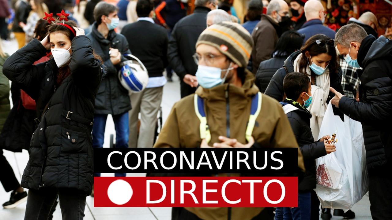 Coronavirus España | Nueva cepa del COVID, restricciones de Navidad y noticias de la vacuna, en directo