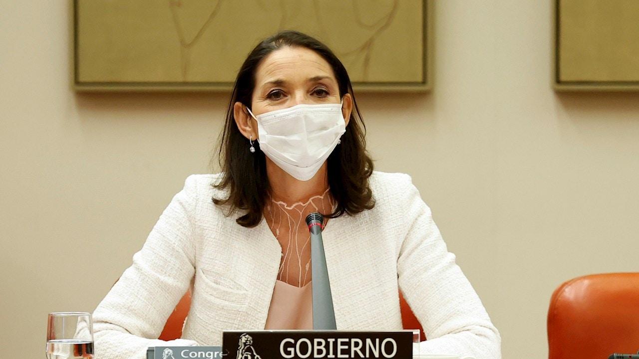 La ministra Maroto, en una foto de archivo.