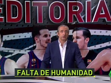 """Pedrerol, sobre el caso Heurtel: """"Hay gente a la que hay expulsar del Barça y del deporte"""""""