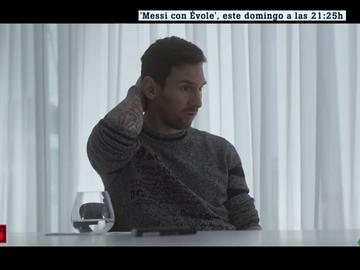 """Messi se sincera con Évole: """"A veces me gustaría ser anónimo y poder ir al cine o a un restaurante con mis hijos"""""""