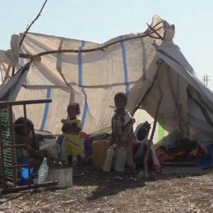 Imagen de niños sin recursos en un país en desarrollo