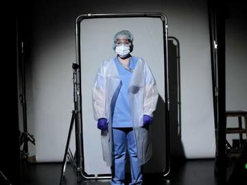 Imagen de una enfermera
