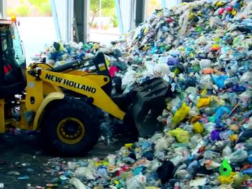 Imagen de una empresa de reciclaje