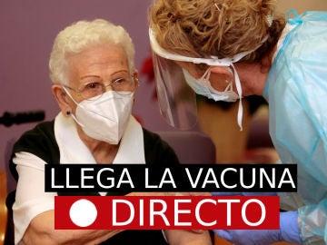 La última hora del inicio de la campaña de vacunación en España, en directo en laSexta.com