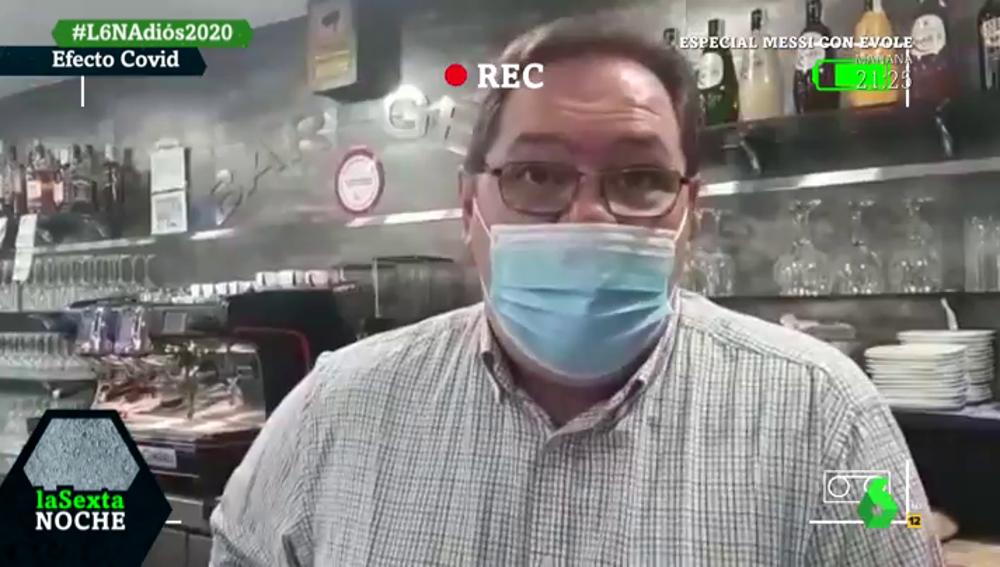 """El duro testimonio de comerciantes afectados por la pandemia: """"Hemos perdido un 70% de la caja y eso se traduce en ansiedad"""""""