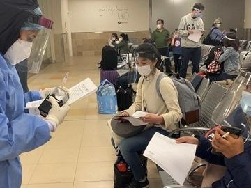 Imagen de un control en un aeropuerto