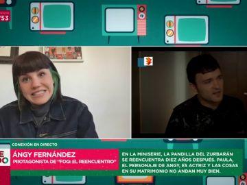 """Angy Fernández, de Paula y Gorka: """"Es una relación un poco tóxica"""""""
