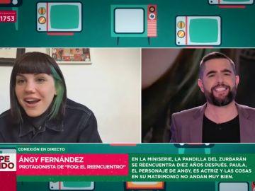Angy Fernández y Dani Mateo