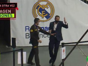 El indignante comportamiento de Nacho Rodríguez con los miembros de seguridad del Wizink Center