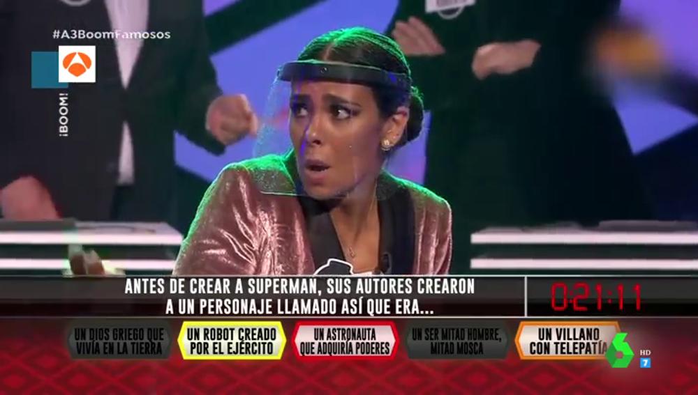 Así fue el mal rato de Cristina Pedroche en 'Boom' que provocó su expulsión