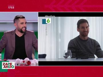 Dani Mateo y Leo Messi