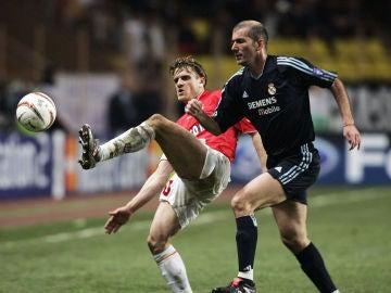 Rothen y Zidane