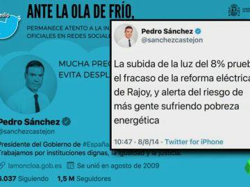 """Wyoming recuerda a Sánchez cuando afirmaba que la subida del precio de la luz era """"un fracaso de del Gobierno de Rajoy"""""""