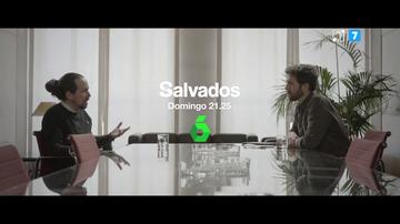 """Pablo Iglesias charla con Gonzo este domingo en Salvados: """"Me he dado cuenta de que estar en el Gobierno no es estar en el poder"""""""