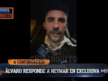 Exclusiva de José Álvarez: Álvaro responde a Neymar en 'El Chiringuito'