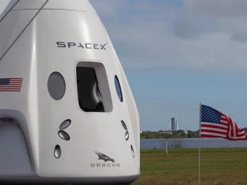 La cápsula Dragon de Space X
