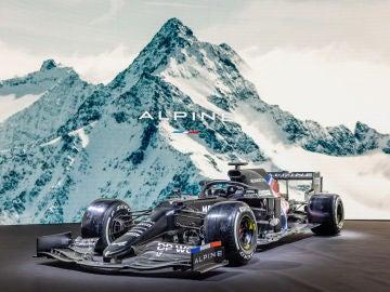 Prediseño del Alpine A521