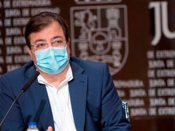 Guillermo Fernández Vara, presidente de la Junta de Extremadura