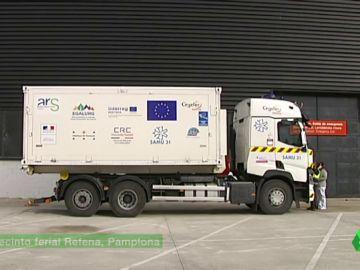 camion para vacunar