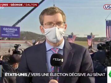 Así es el vídeo viral de un reportero informando de EEUU en multitud de idiomas que conquista a España