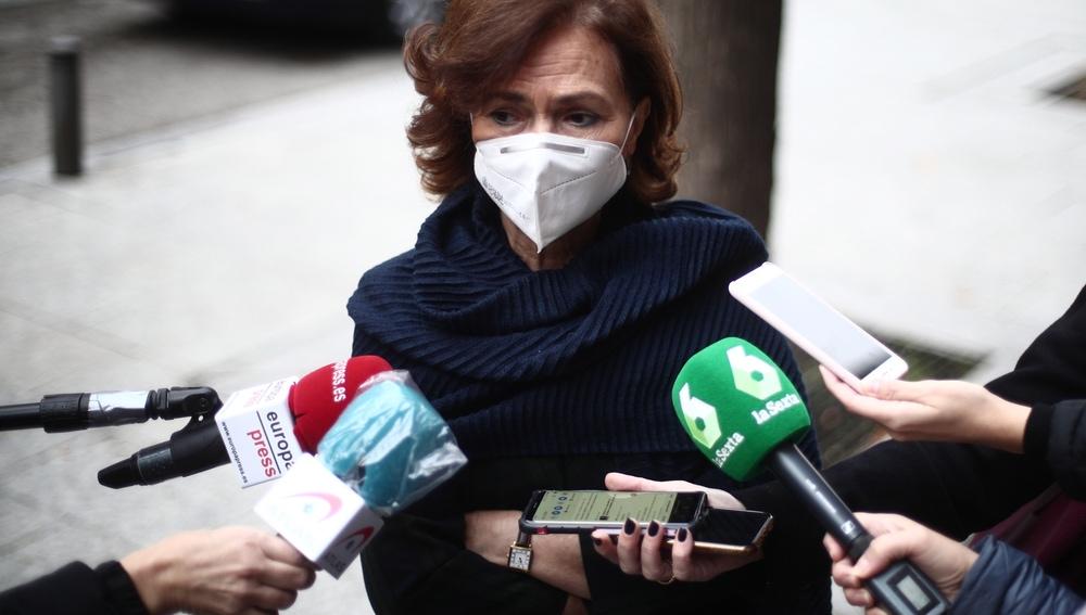 """Carmen Calvo opina que retirar la inviolabilidad del rey """"se puede abortar perfectamente"""""""
