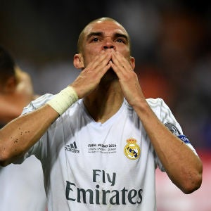 Pepe, en el Real Madrid