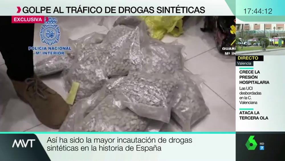 Droga intervenida por Policía y Guardia Civil