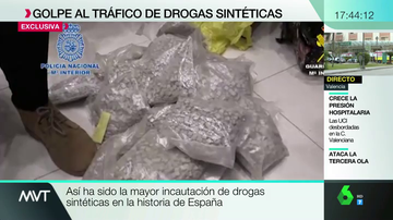 Droga intervenida por Policía y Guardia Civil