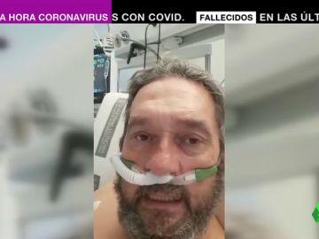 """El terrible relato de un anestesista ingresado en la UCI por coronavirus: """"He visto la muerte muy cerca"""""""