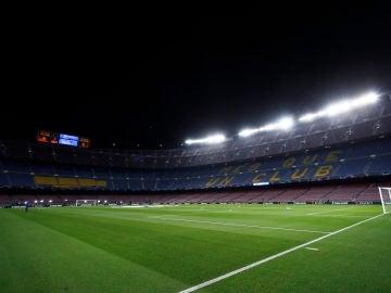 Vista general del Camp Nou.
