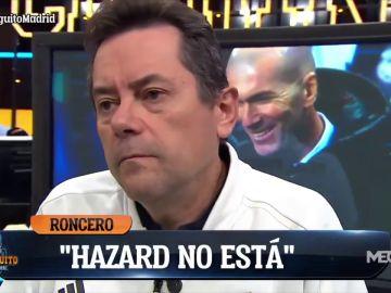 """Tomás Roncero, enfadado con Zidane tras la derrota en la Supercopa en 'El Chiringuito': """"Si cae un marciano y ve esa foto..."""""""