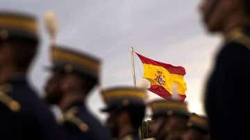Militares en formación en la Academia General Militar de Zaragoza