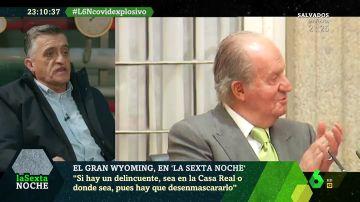 """El Gran Wyoming: """"Si hay un delincuente, aunque sea en la Casa Real, hay que desenmascararlo"""""""