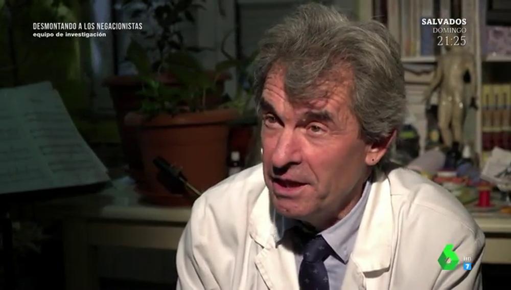 García Ruí, médico antivacuna