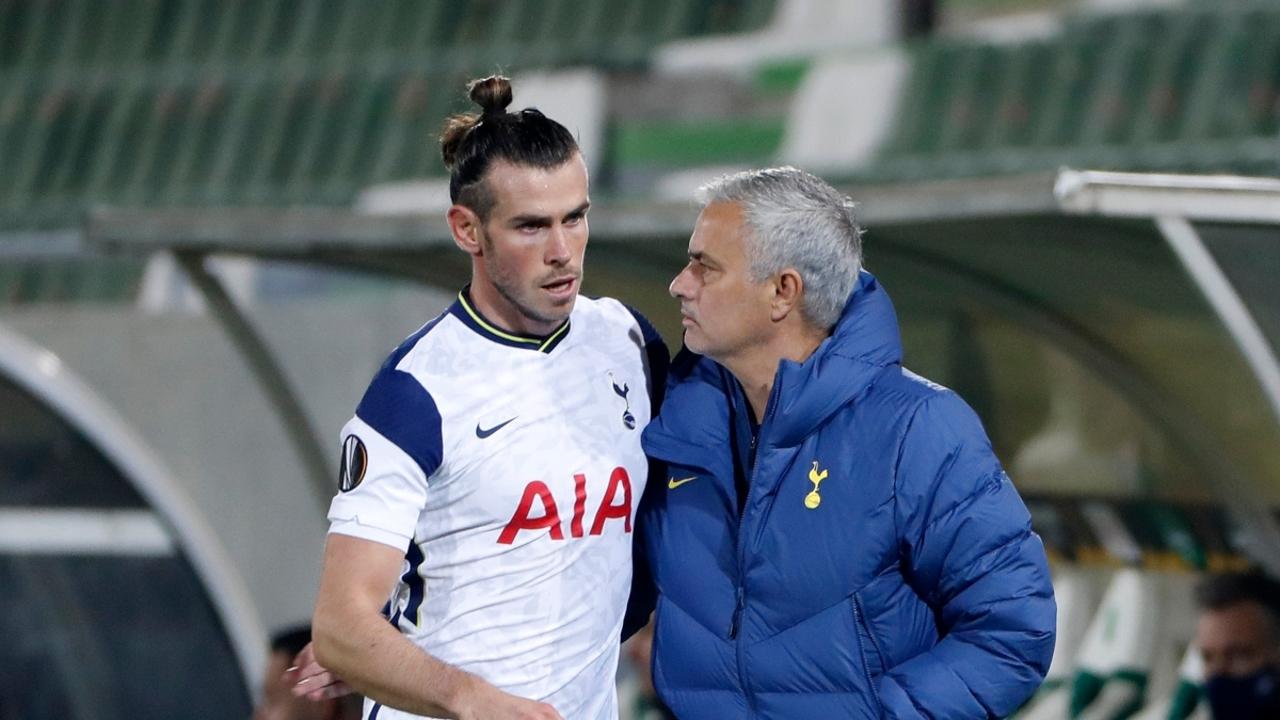 Mourinho, con Bale