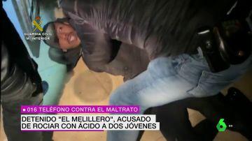 Así fue el momento de la detención de 'El Melillero' en Málaga