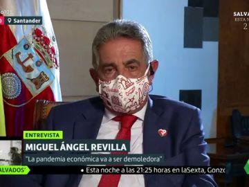 Miguel Ángel Revilla en Liarla Pardo