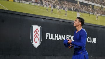 Thiago Silva, ante el Fulham