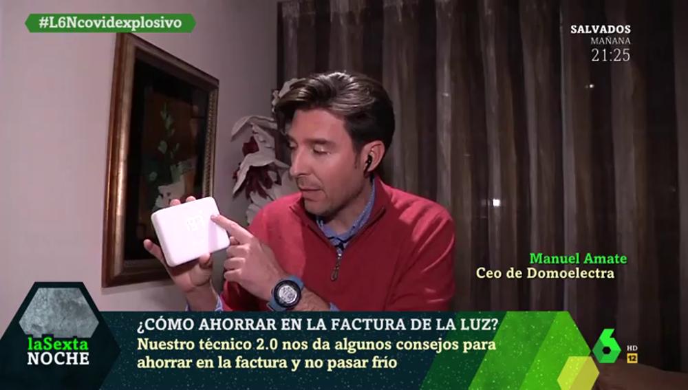 El experto Manuel Amate explica en cinco minutos todas las formas de ahorrar en la factura de la luz