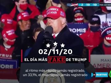 Las 30.000 mentiras de Trump: ¿cuáles son las más repetidas y las más inverosímiles?