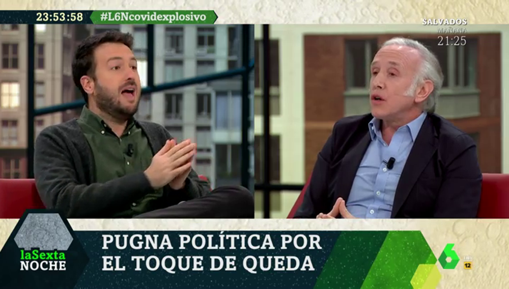 """Juanlu Sánchez: """"No criminalicemos solo a la gente joven, los bares están llenos y hay muchas mesas que no respetan la distancia"""""""